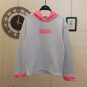 Approved Pembe Neon Sweat